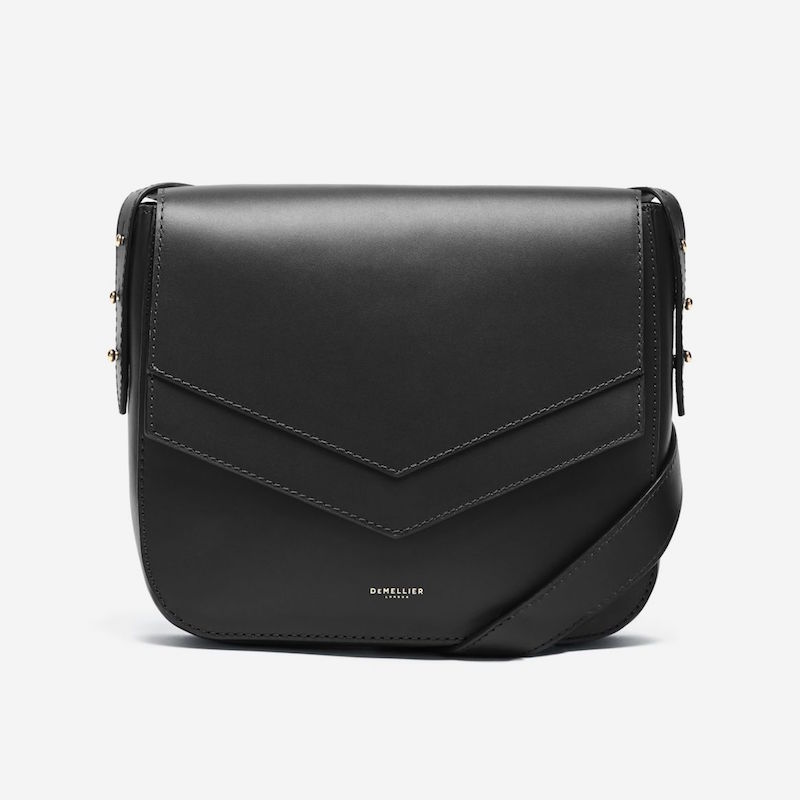 Demellier San francisco envelope bag black