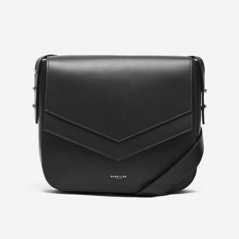 Demellier San francisco envelope bag black