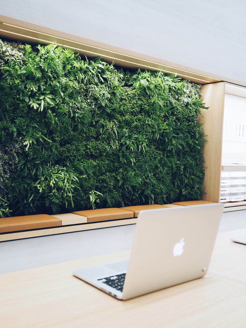 Apple Regent Street living wall