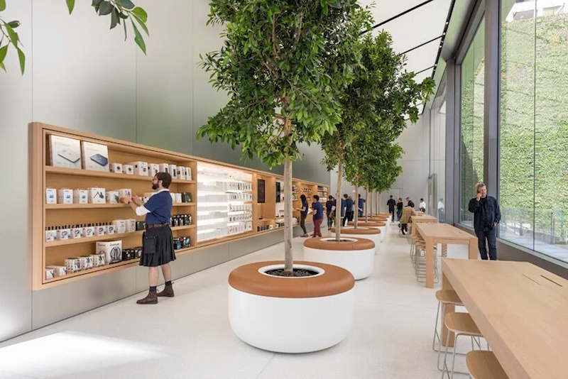 Apple Union Square Store San Francisco designed by Foster + partners