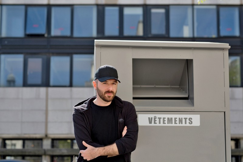 Balenciaga hires Demna Gvasalia - photo by Daniel jackson for Vogue