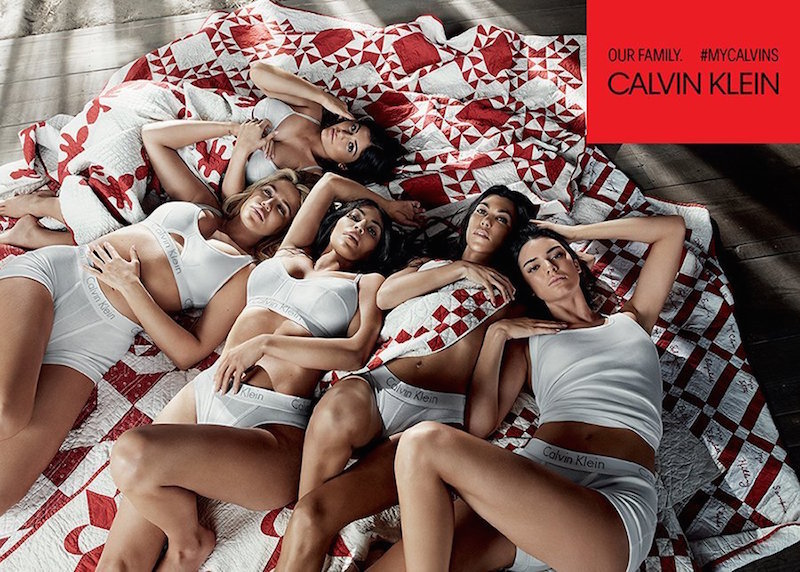 Calvin Klein Kardashian ad campaign