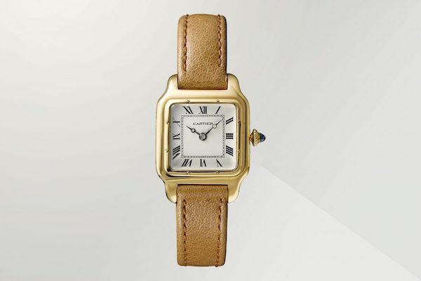 Cartier Santos watch at The Design Museum