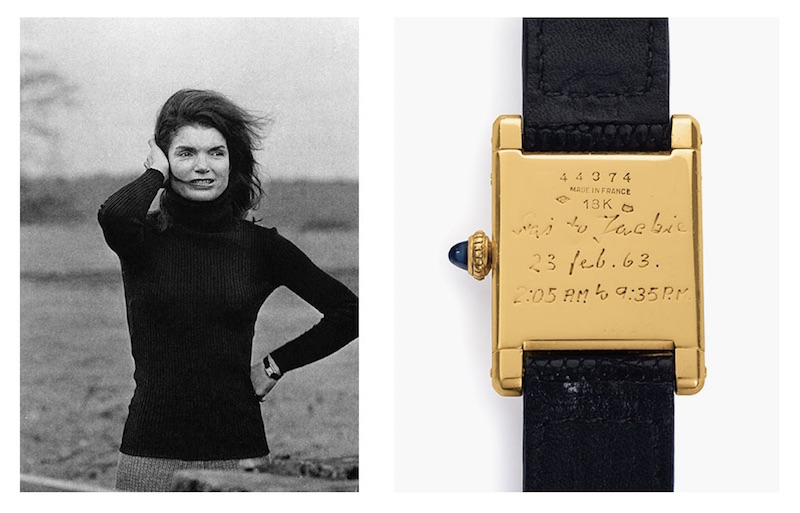 Cartier watch Jackie Kennedy