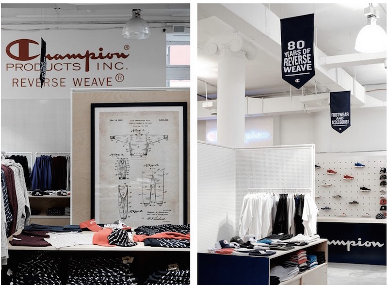 Champion New York opens in SoHo featuring archive pieces and limited editions