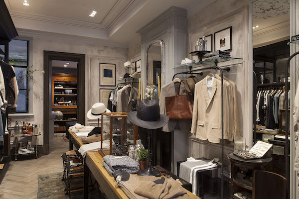 Club Monaco Chiltern Street Mens Shop