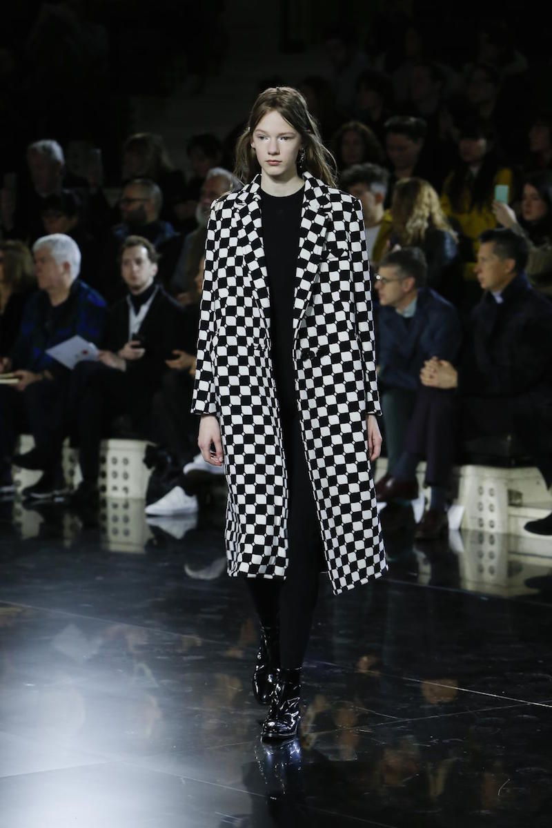 Courreges self warming coat