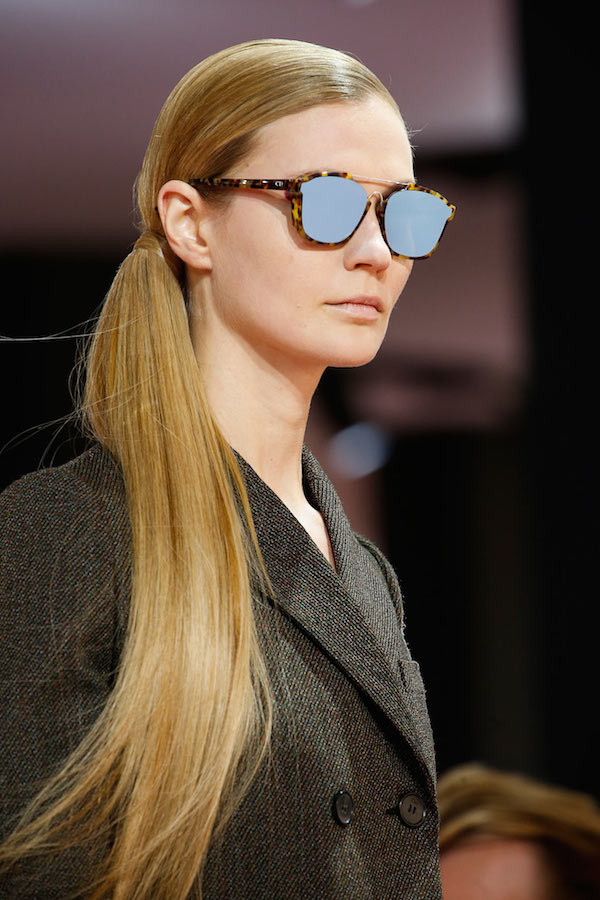Top 5 styling moments at Dior aw15 sci-fi reflective eyewear