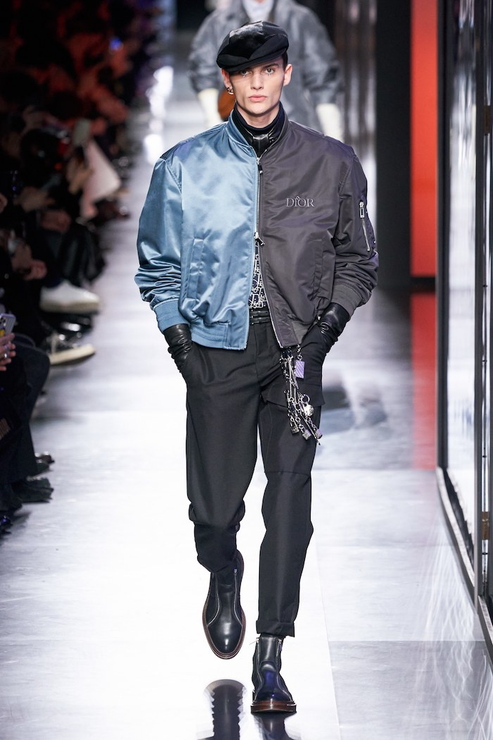 Dior men winter 2020 MA1 Vogue Runway