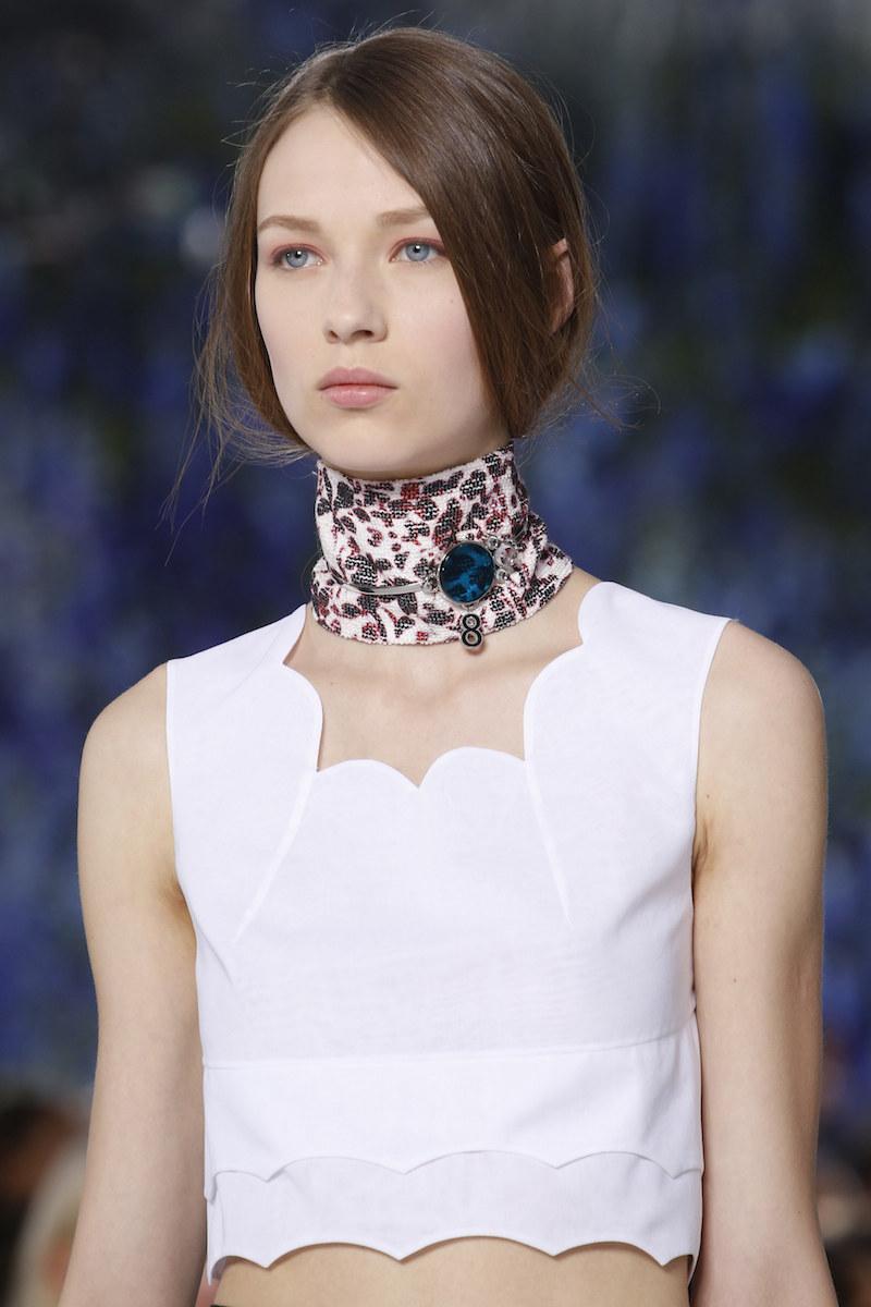 Dior scarf ss16