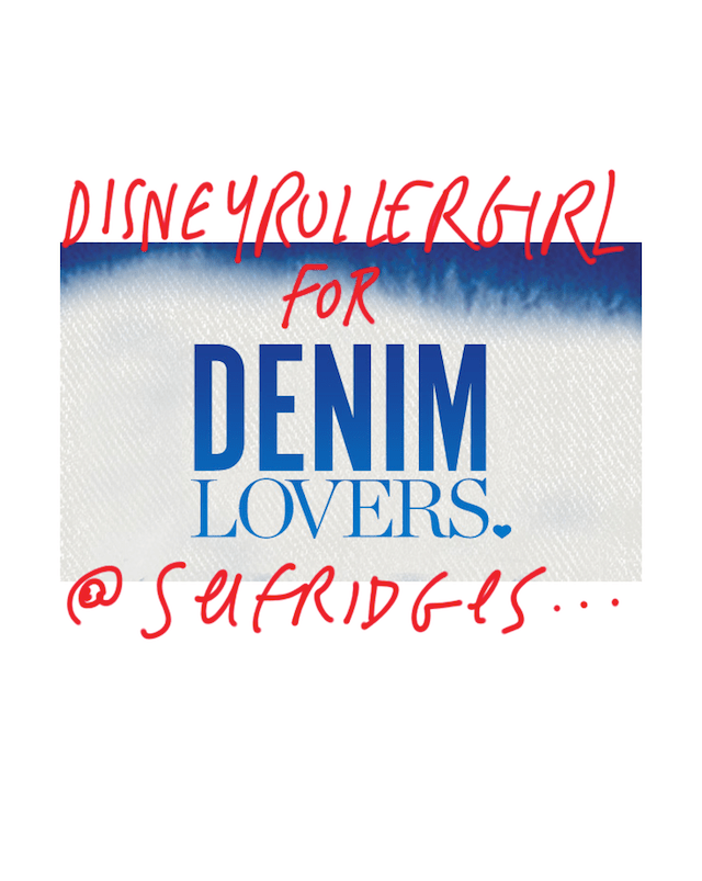 Disneyrollergirl-Selfridges-Denim-lovers