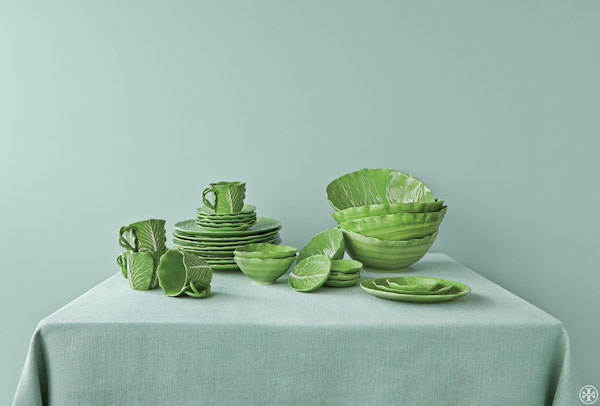 042a100cada Buy it now  Dodie Thayer X Tory Burch launch lettuce ware ...