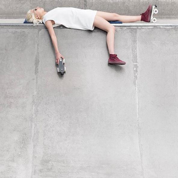 Flaneurz rollerskate sneakers