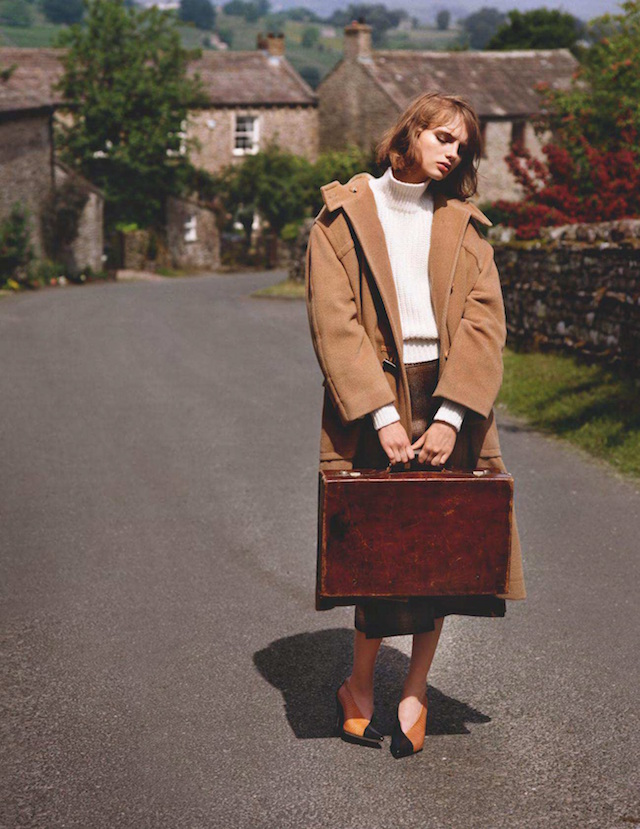 Fran Summers for UK Vogue by Alasdair McLellan