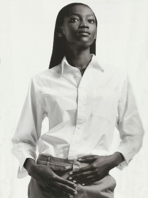 Gap campaign featuring Oluchi shot by David Sims 1999