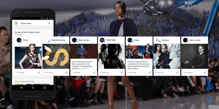 New York Fashion Week Google Kate Lanphear