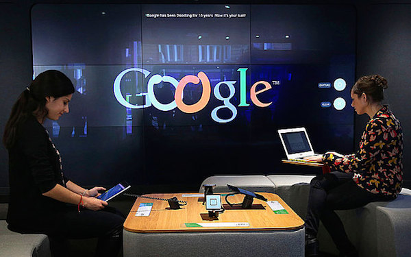 Google has opened a bricks and mortar store in tottenham court road