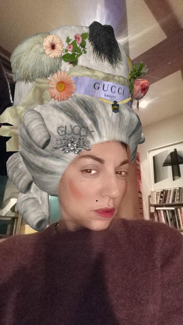 Gucci Beauty Instagram filter