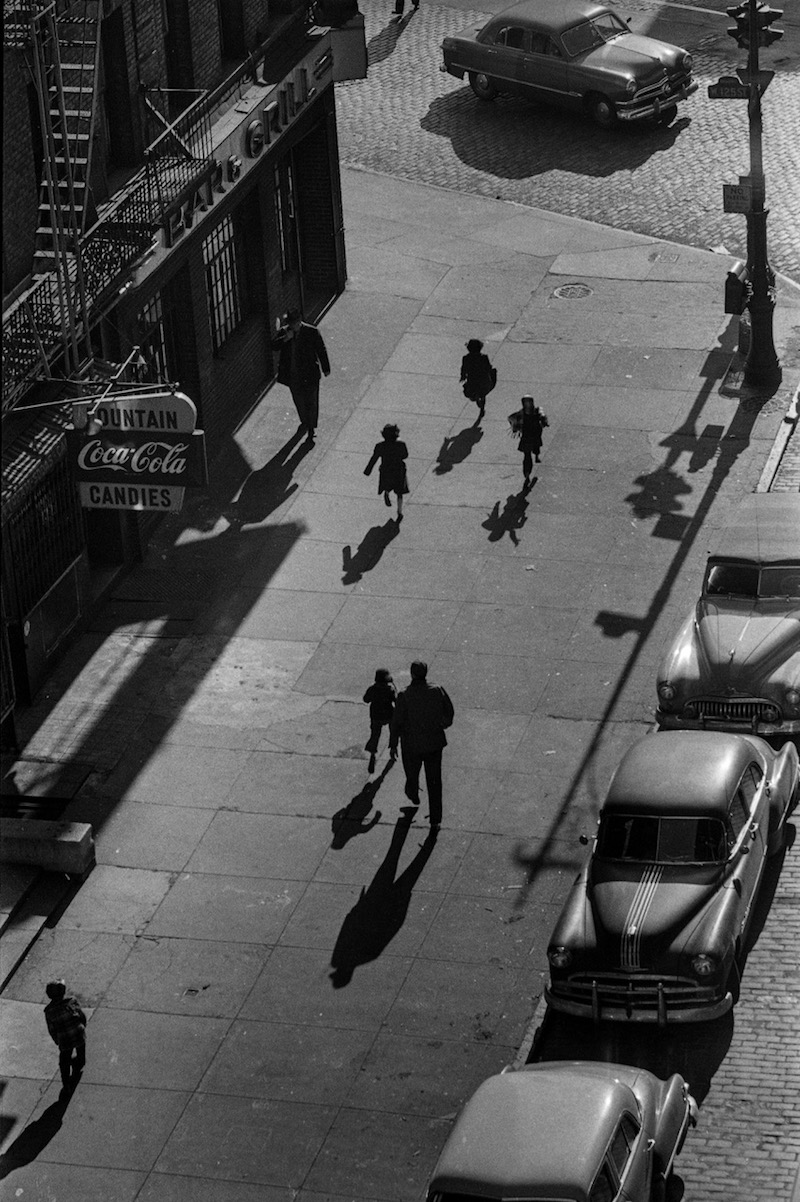 Harold Feinstein 125th Street From Elevated Train, 1950. David Hill Gallery