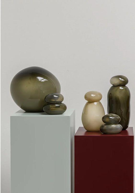 Helle Mardahl handblown glassware