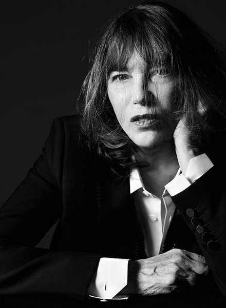 Jane Birkin by Hedi Slimane for Saint Laurent