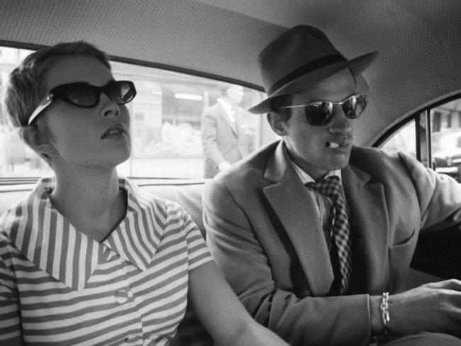 Jean Seberg and Jean-Paul Belmondo Breathless