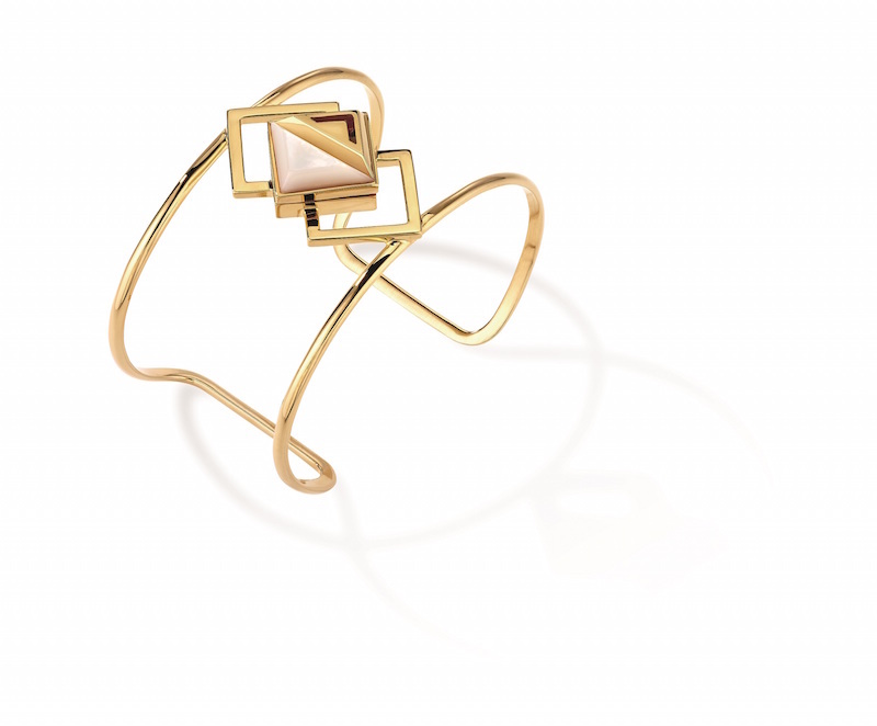 The rise of the scented ceramic object includes scented jewellery, like this Kilian scented bracelet ss16