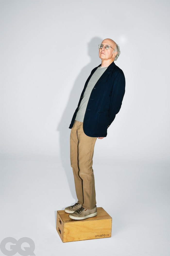 Larry David GQ Jason Nocito
