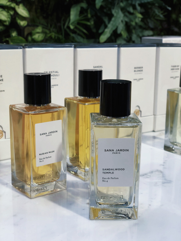 Maiyet Collective pop-up Sana Jardin perfume