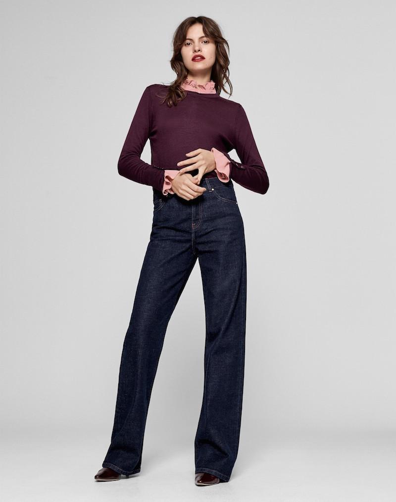 Me+Em wide leg jeans
