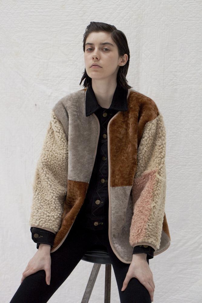 Milena Silvano reversible coat
