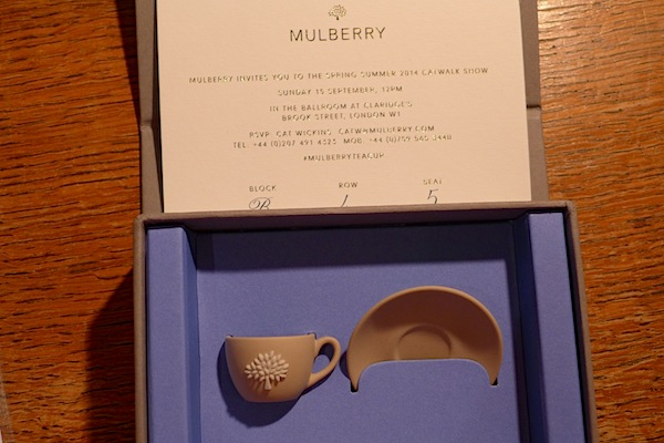 Mulberry invitation