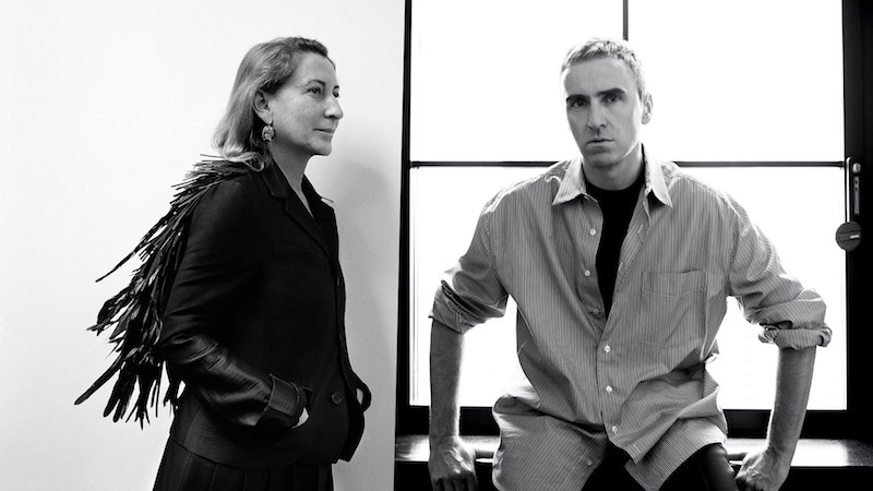 Prada announces co-creative directors - Miuccia Prada and Raf Simons