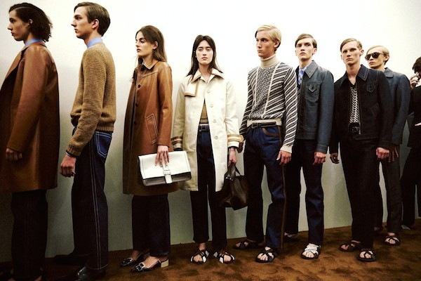 Prada menswear ss15 Prada womenswear resort 2015 Dazed