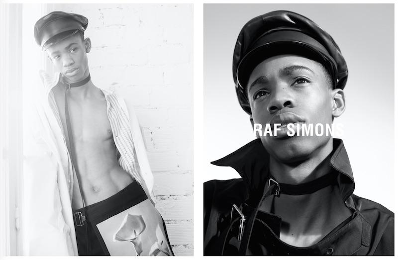 Raf Simons SS17 campaign