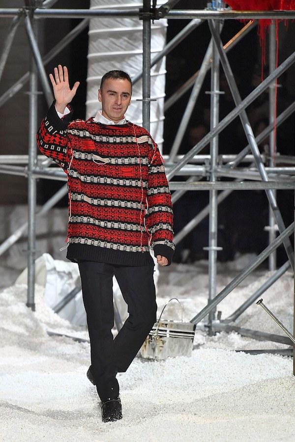 Raf Simons leaves Calvin Klein