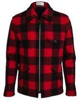 Saint-Laurent-plaid jacket