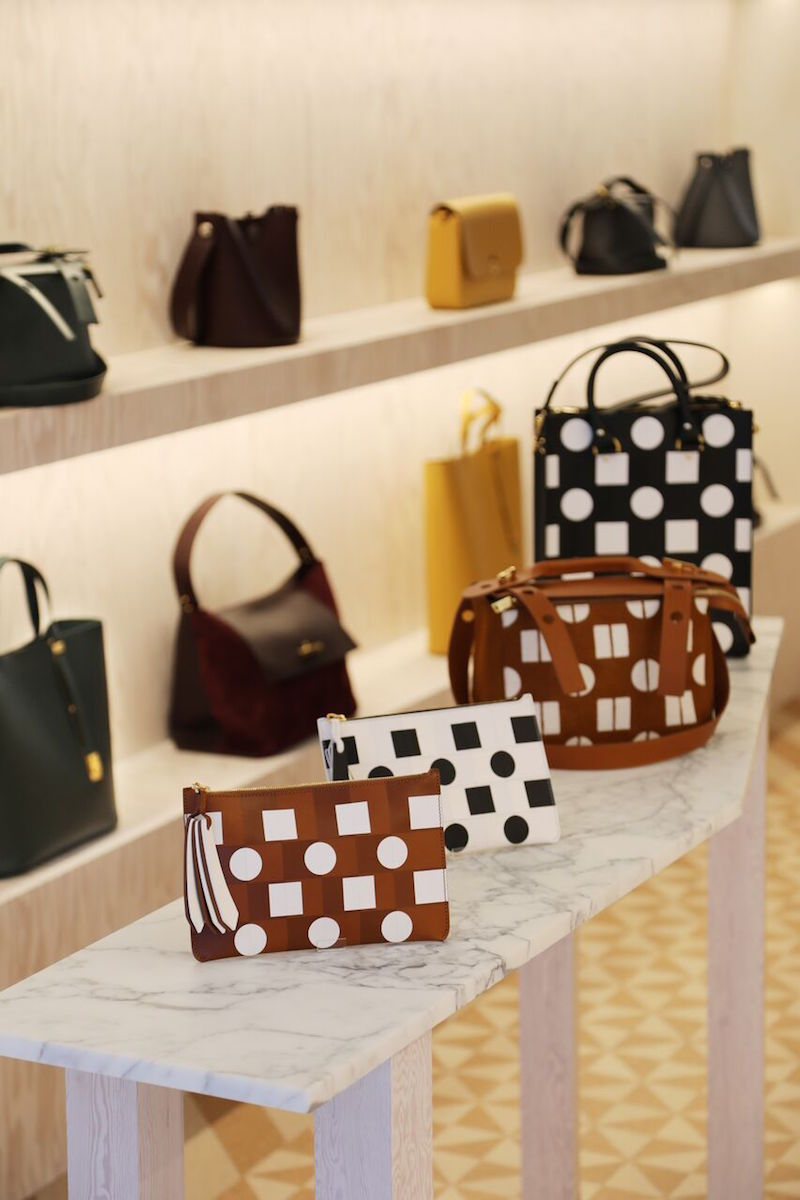 Sophie Hulme Chiltern street store Darkroom Collaboration