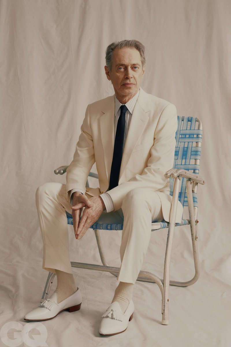 Steve Buscemi for GQ by Fanny Latour Lambert