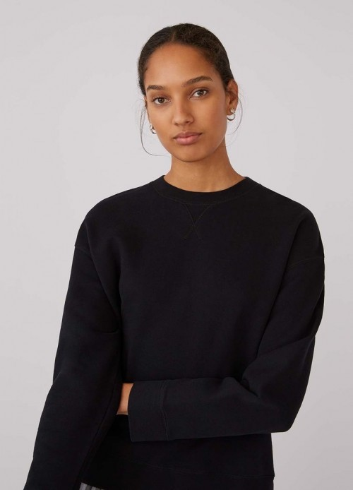 Sunspel relaxed fit loopback sweatshirt