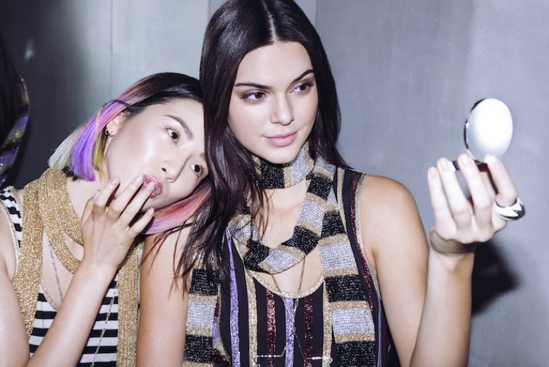 The Estee Edit Kendall Jenner and irene kim