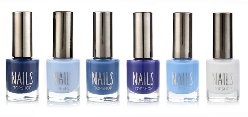 TopShop launches DENIM NAILS