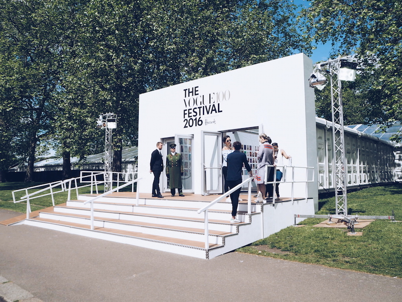 Vogue festival 2016 main entrance