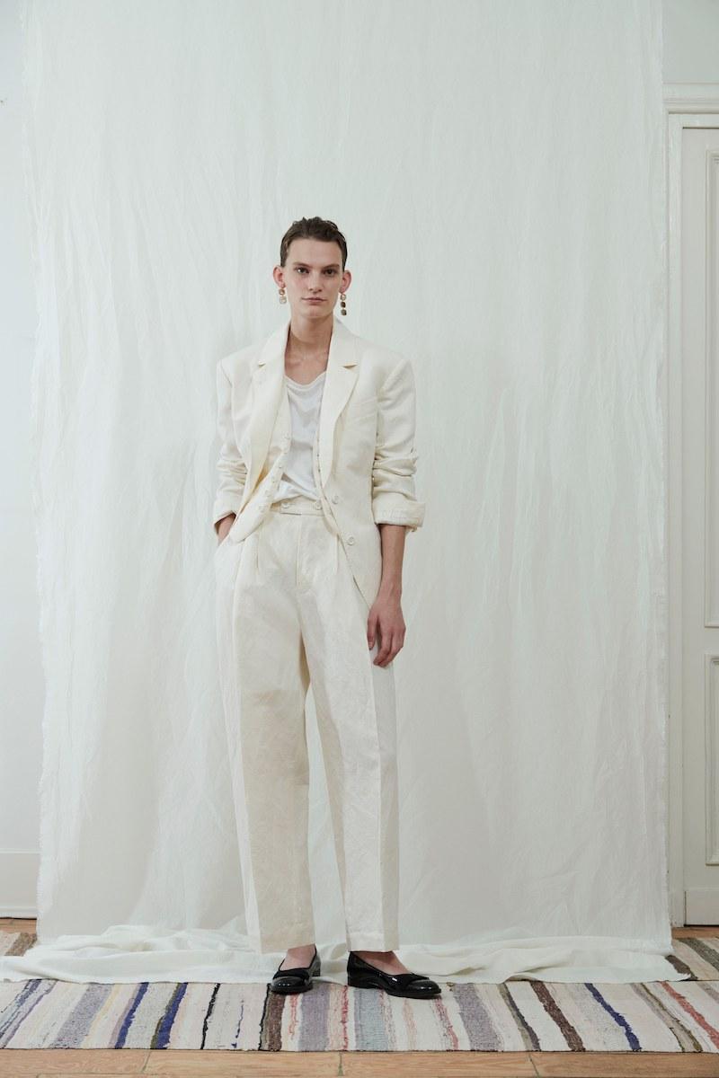 Zanini white suit