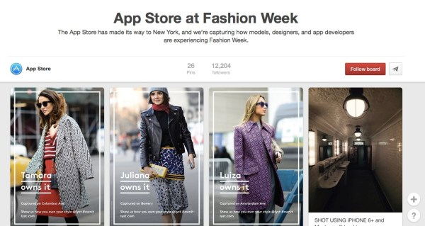 app-store-pinterest-fashion-week-lyst