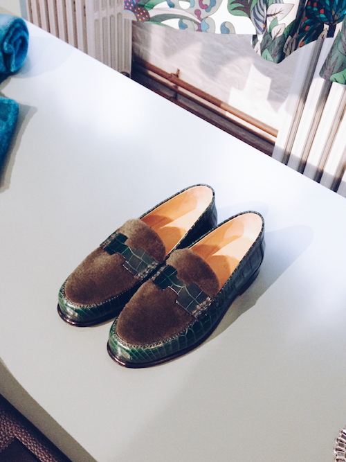 hermes aw15 loafers