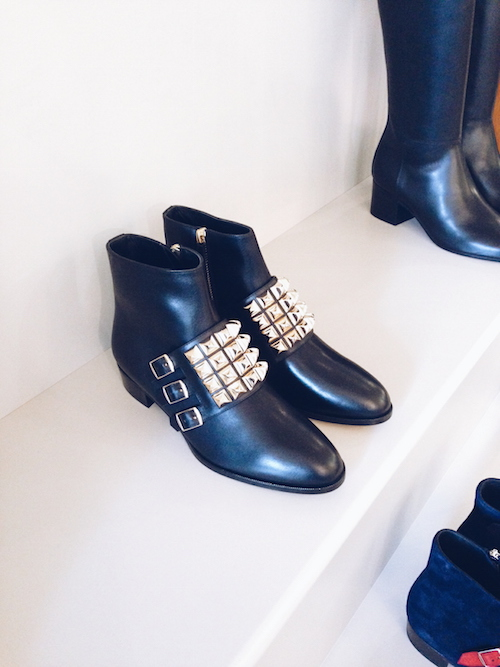 Hermes AW15 studded boots