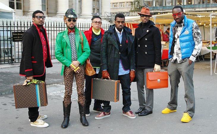 kanye west fashion week entourage Tommy Ton