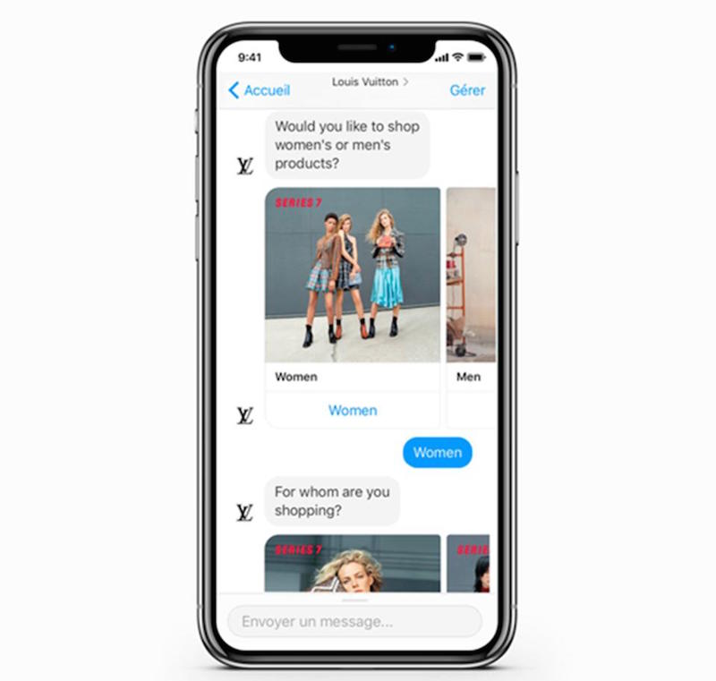 louis vuitton chatbot