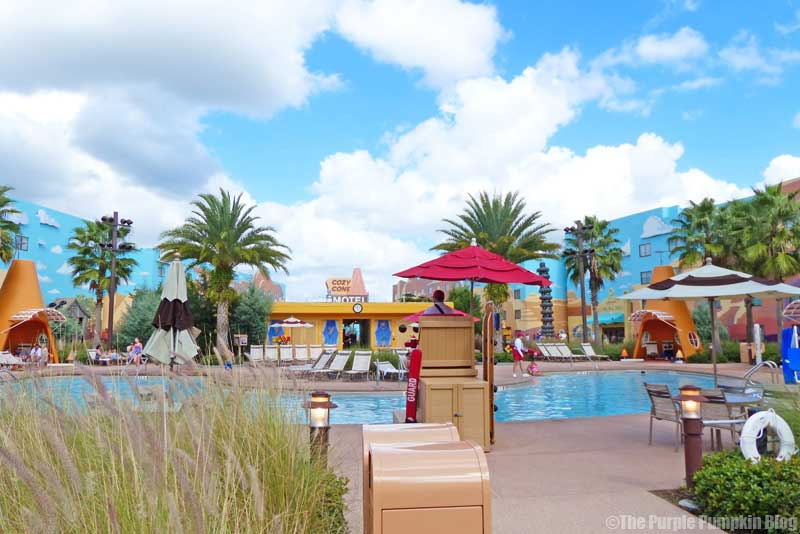 Disney's Art of Animation Resort - Cars Courtyard